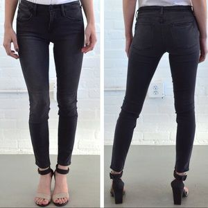 FRAME Denim Le High Skinny Jeans in Preston